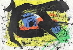 Untitled - Original Lithograph by Joan Mirò - 1973