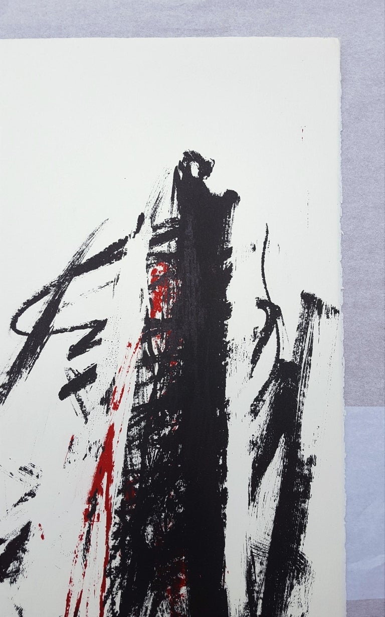 An original signed lithograph on Arches paper by American artist Joan Mitchell (1925-1992) titled