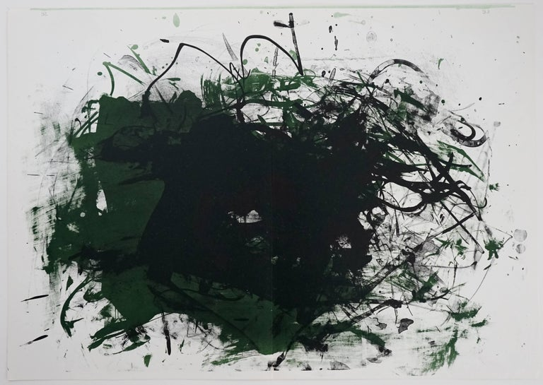 Joan Mitchell Abstract Print - Untitled, from One Cent Life