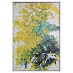Joan Mitchell Style Colorful Art