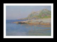 Alcudia Mallorca original impressionist acrylic painting