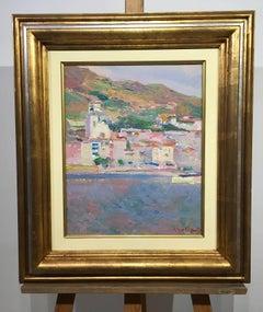 Coast- original impressionist acrylic painting