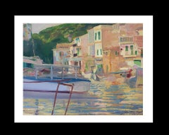 Coast original impressionist canvas oil painting