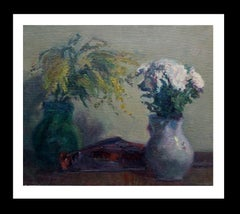 flowers original impressionist acrylic painting