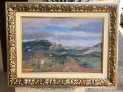 landscape of Mallorca original impressionist oil canvas painting