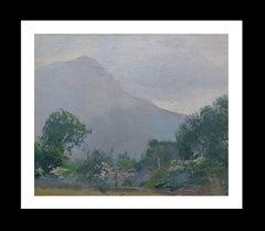 LANDSCAPE Original impressionist acrylic painting
