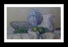 porcelain original impressionist acrylic painting