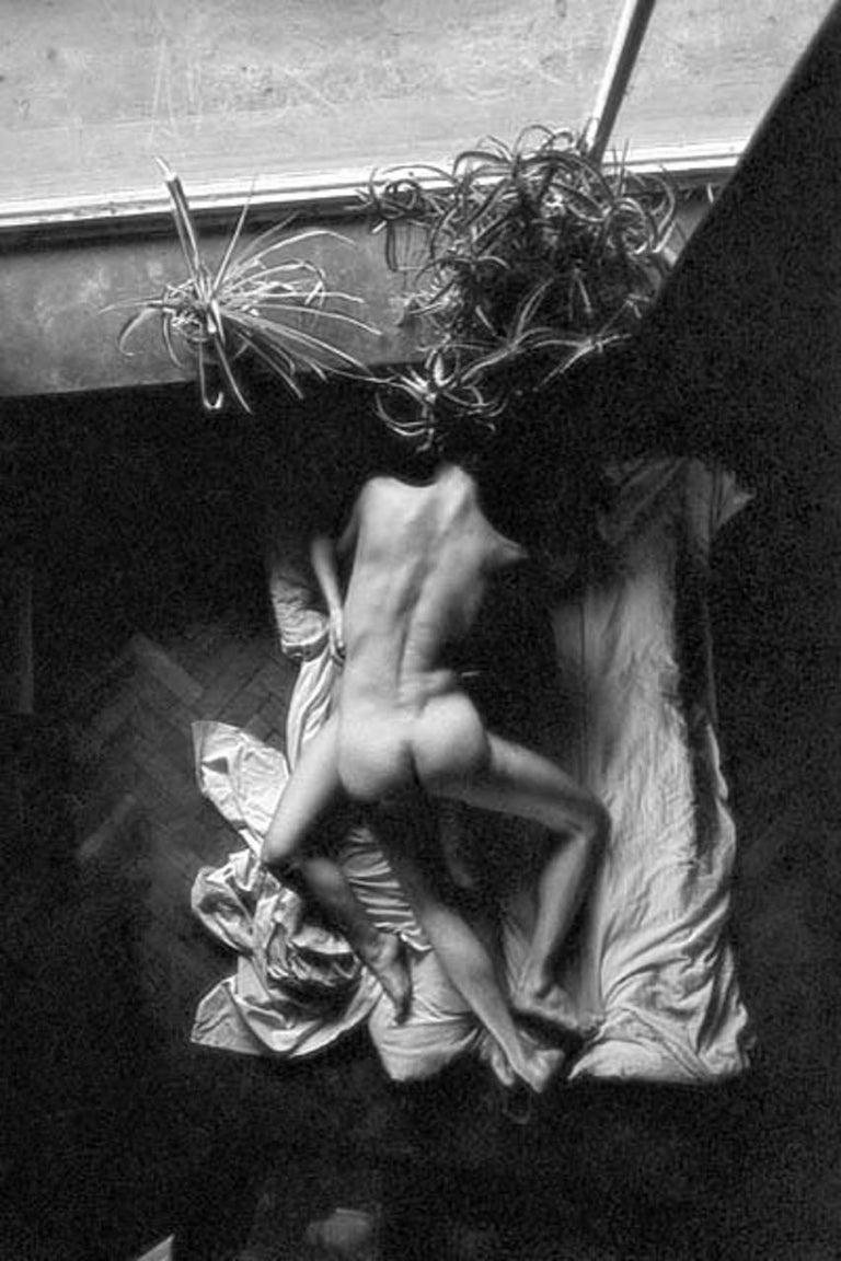 Joanna Chudy Nude Photograph - Untitled - Black & white photography, Figurative, Erotic, Nude, Couple