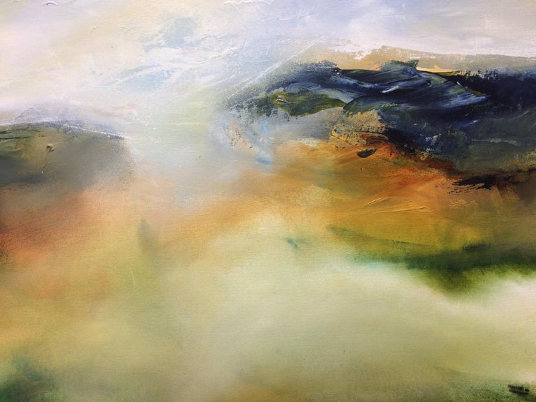 Hinterland - Landscape Oil Painting by Joanne Duffy, 2018 For Sale 2
