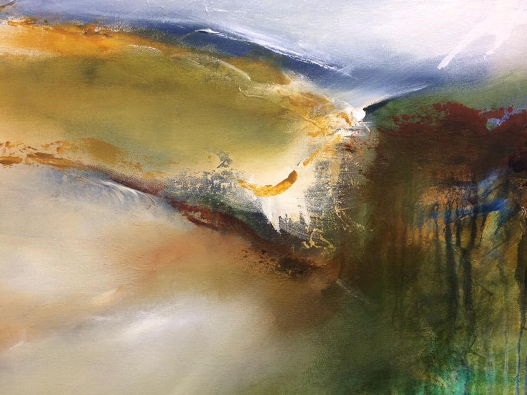 Hinterland - Landscape Oil Painting by Joanne Duffy, 2018 For Sale 3