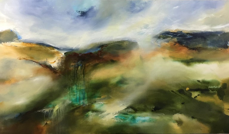 Joanne Duffy Abstract Painting - Hinterland