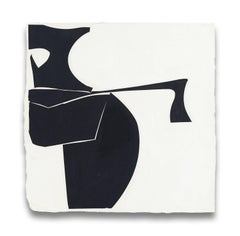 Covers 13-Black B (Abstract painting)