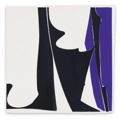 Covers 13-Blue Black  (Abstract painting)