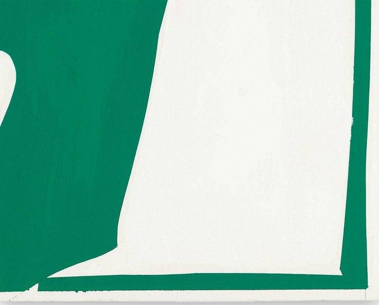 Covers 13-Green - Hard-Edge Painting by Joanne Freeman