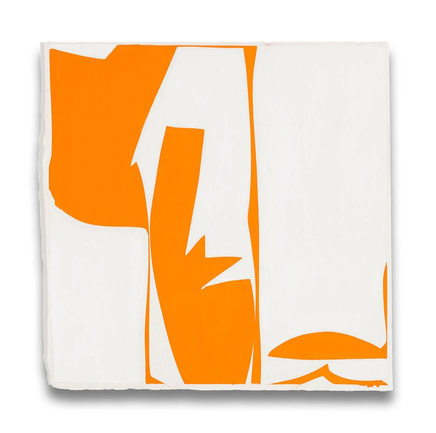 Covers 13 - orange (Abstract painting)