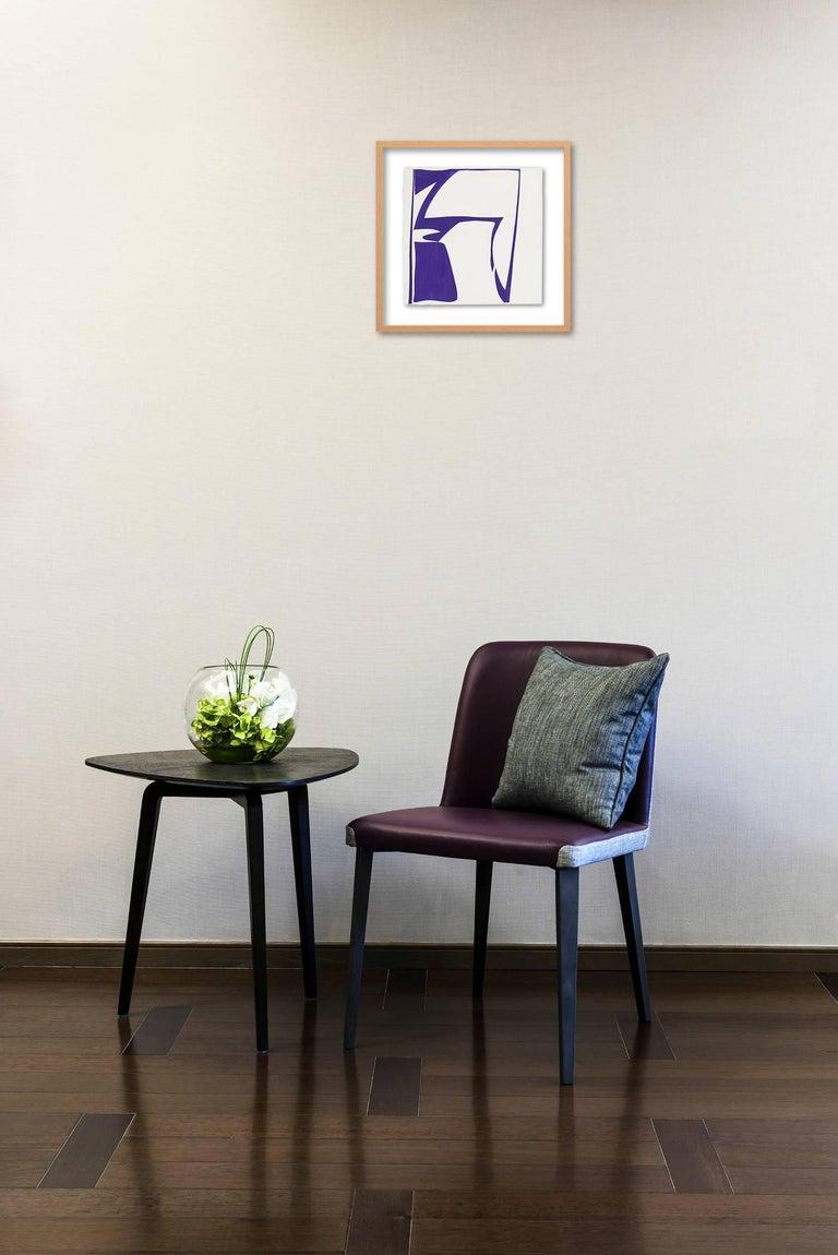 Covers 13-purple - Painting by Joanne Freeman