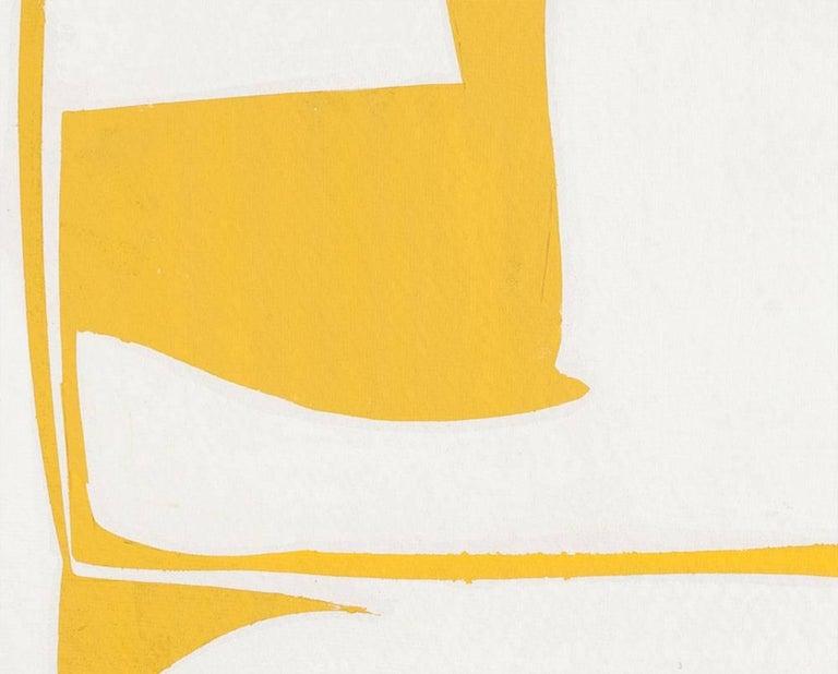 Covers 13-Yellow - Hard-Edge Painting by Joanne Freeman