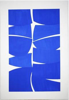 "Joanne Freeman ""Ultramarine"" Gouache on handmade paper"