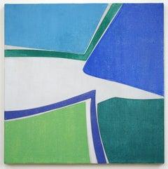 "Joanne Freeman ""Untitled #3"" -- Abstract Oil Painting on Linen"