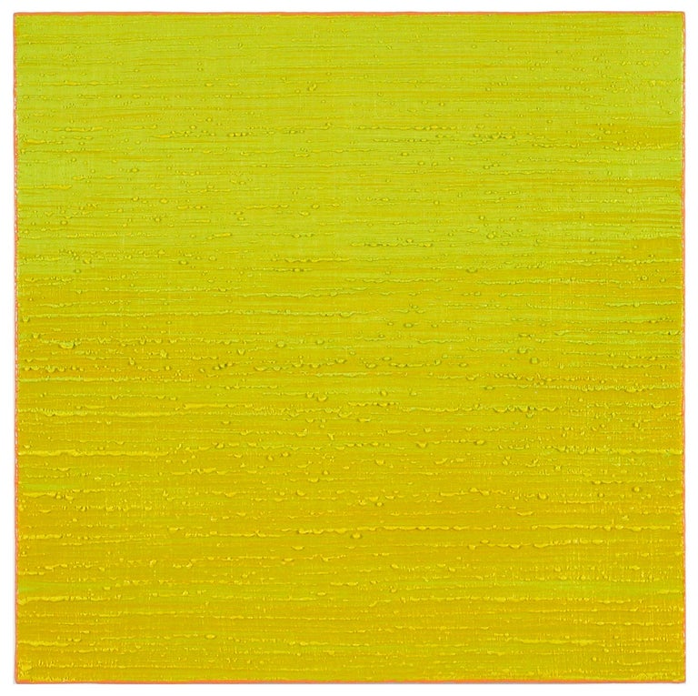 Lush Minimalism  Silk Road is chromatically juicy and compositionally reductive. Each painting in this ongoing series is a small, luminous color field composed with layers of translucent wax paint. This on-going series, which the artist began in