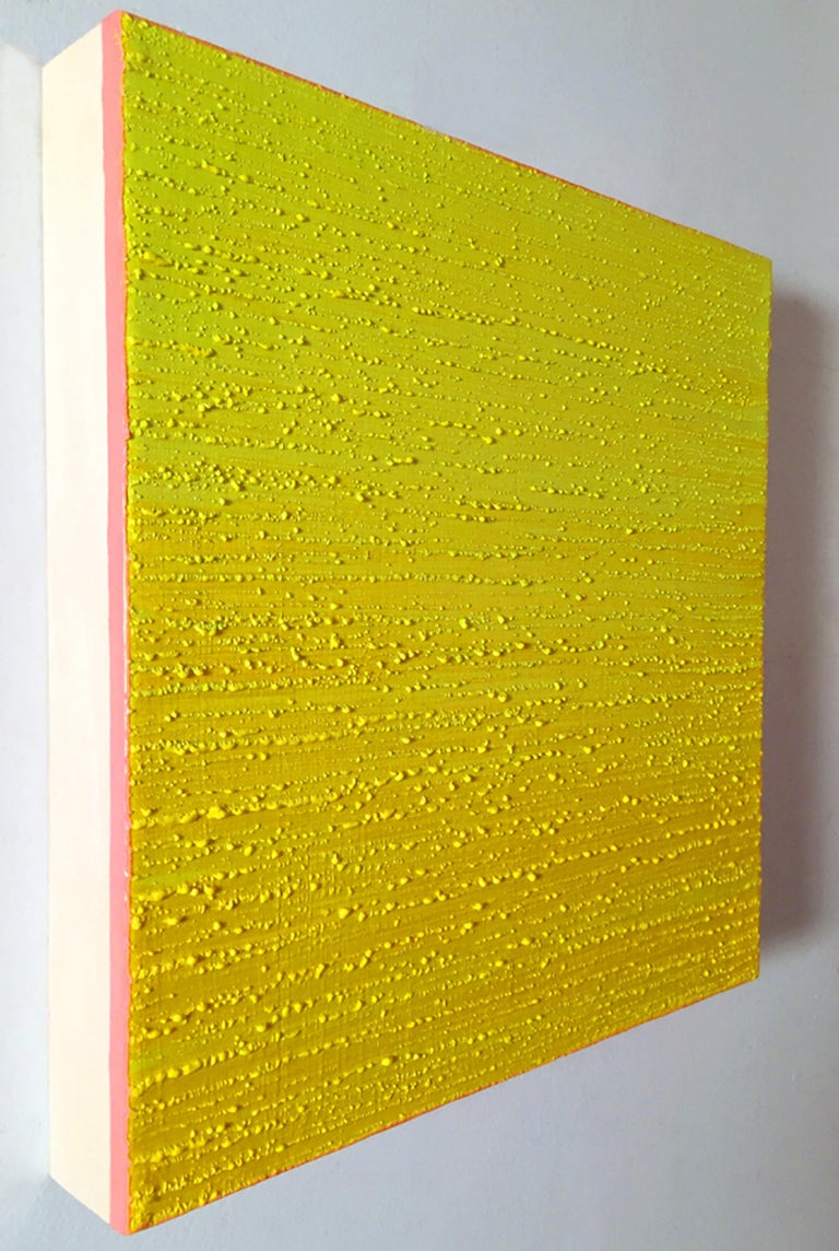 Silk Road 450, 2019, encaustic on panel, 12 x 12 x 2 inches For Sale 7