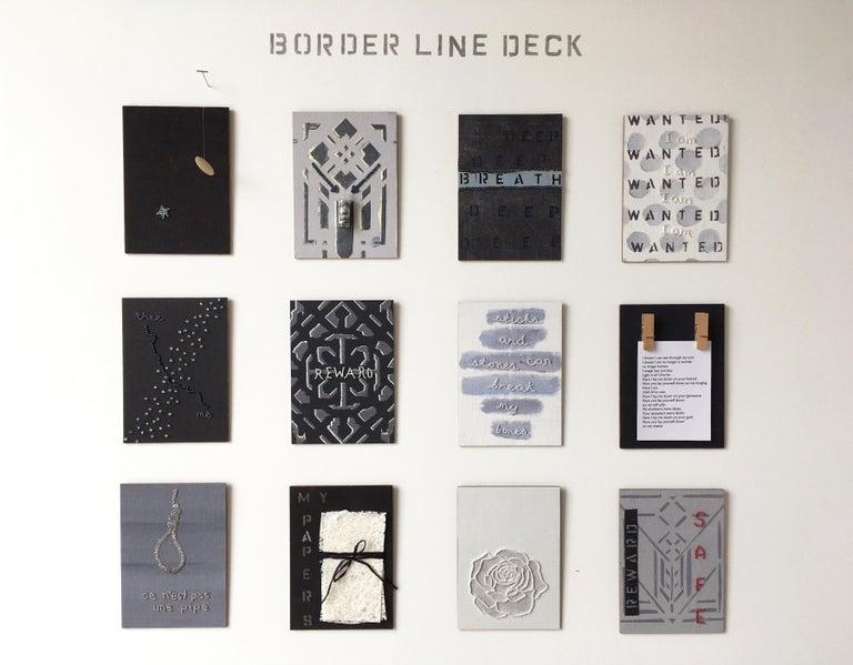 <i>The Border Line Deck</i>, 2017, JoAnne McFarland