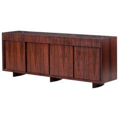 Joaquim Tenreiro Buffet/Side Board, Jacaranda (rosewood) wood, Brazil, 1950