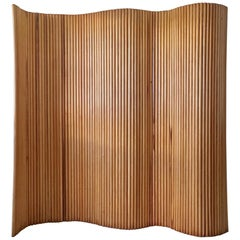 Joaquim Tenreiro Folding Screen in Wood, Brazil