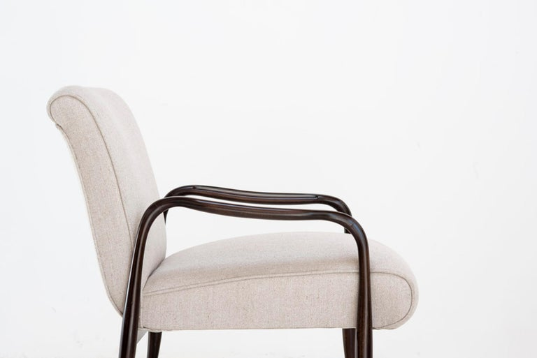 """Joaquim Tenreiro Pair of Armchairs Model """"Leve"""", Brasil, 1942 In Good Condition For Sale In Barcelona, Spain"""