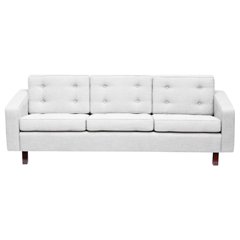 Joaquim Tenreiro Three-Seat Sofa, Brasil, 1954 For Sale