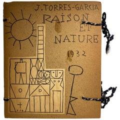 "Joaquin Torres-Garcia Artist's Book ""Raison et Nature"""