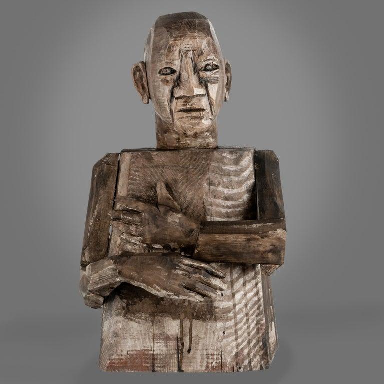 Joe Brubaker Figurative Sculpture - Leopold