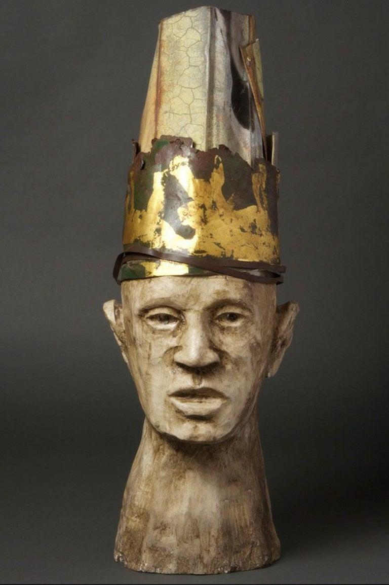 Joe Brubaker Figurative Sculpture - Enrique