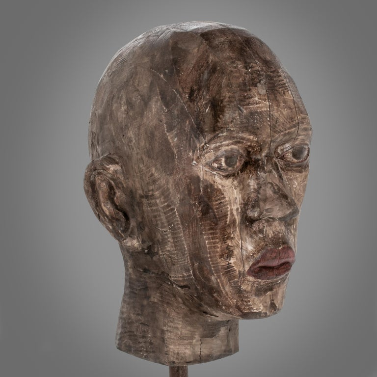Hank - Sculpture by Joe Brubaker