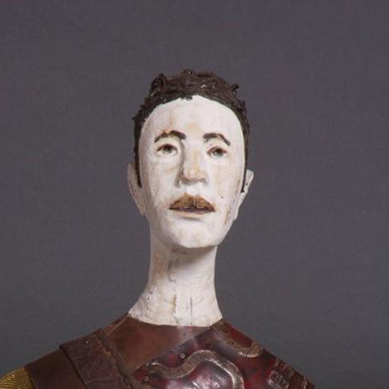 Jorge - Sculpture by Joe Brubaker