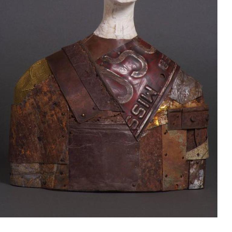 Jorge - Contemporary Sculpture by Joe Brubaker