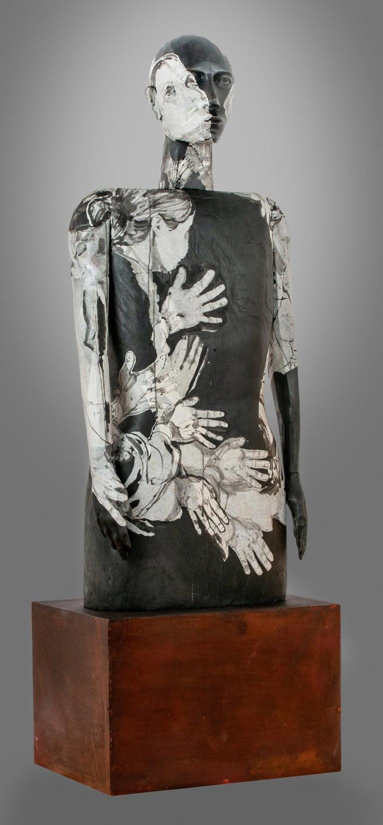 Joe Brubaker Figurative Sculpture - Sayujya
