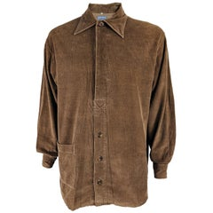 Joe Casely Hayford Vintage Brown Cord Shirt, 1990s