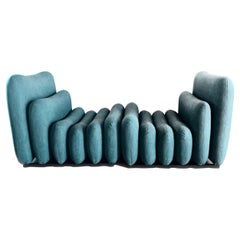 """Joe Colombo 20th Century Pair of Armchairs from the Series """"Additional System"""""""