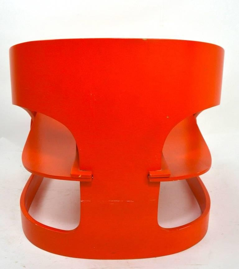 Joe Colombo 4801 for Kartell Lounge Chair For Sale 2