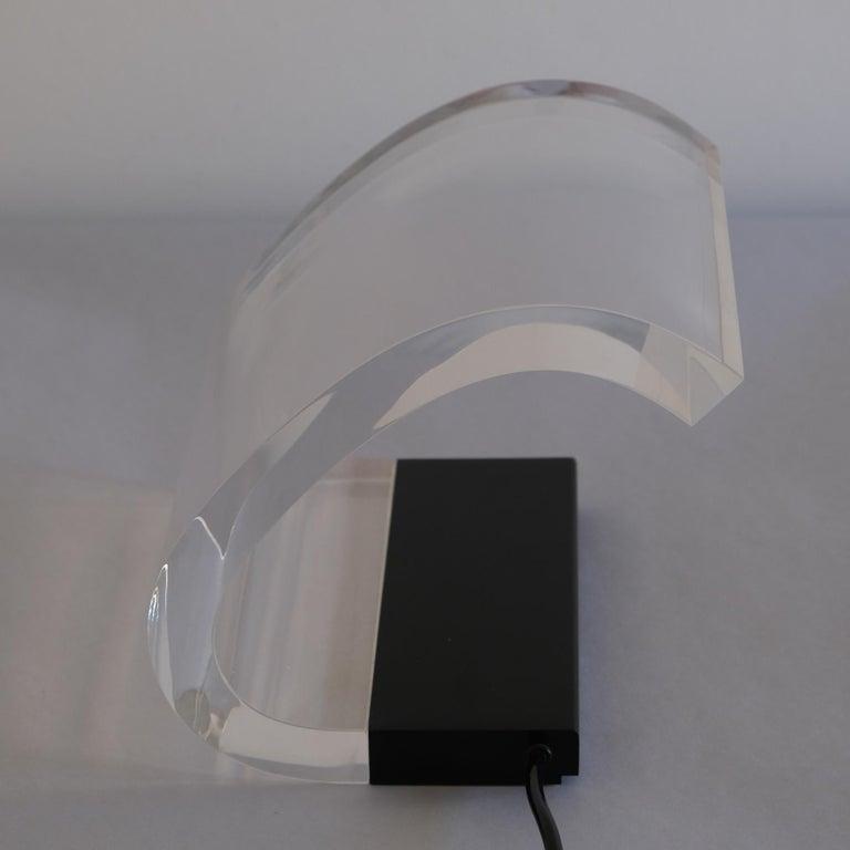 Joe Colombo, A Table Lamp, Acrilica, Oluce For Sale 3