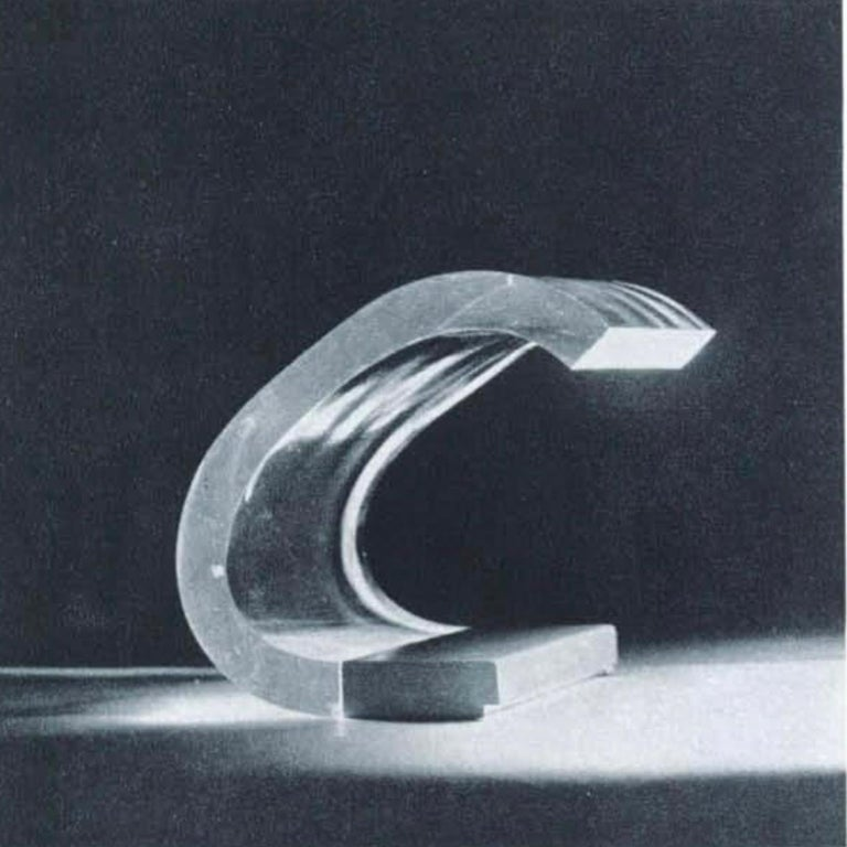 Late 20th Century Joe Colombo, A Table Lamp, Acrilica, Oluce For Sale