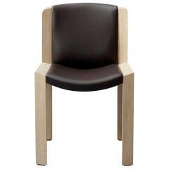 Joe Colombo 'Chair 300' Wood and Sørensen Leather by Karakter
