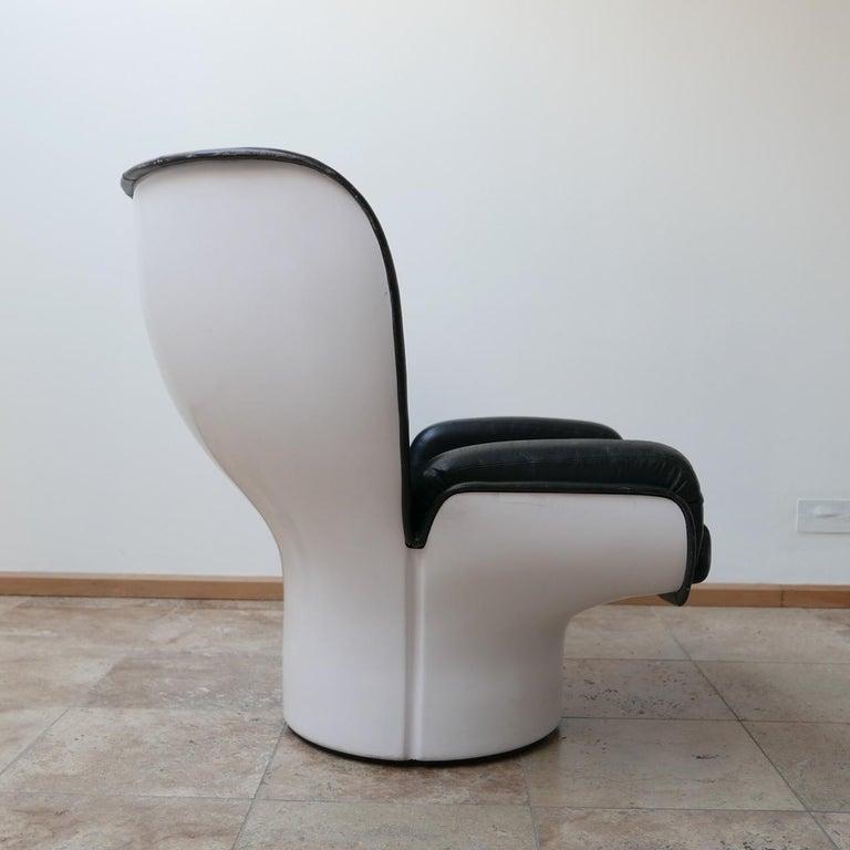 Joe Colombo 'Elda' Midcentury Italian Armchair For Sale 6