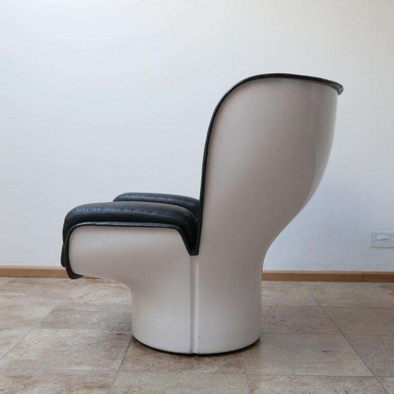 Joe Colombo 'Elda' Midcentury Italian Armchair For Sale 8