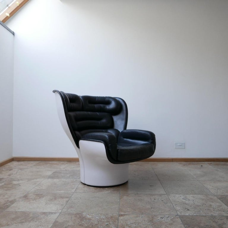 Joe Colombo 'Elda' Midcentury Italian Armchair For Sale 10