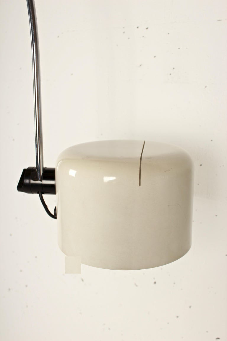 Joe Colombo Extra Large Arched Coupe Floor Lamp By Oluce 1967 For Sale At 1stdibs