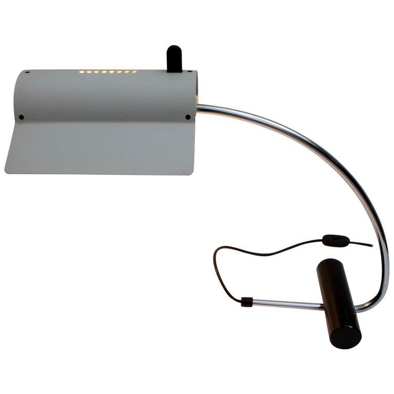 Joe Colombo Mid-Century Modern Italian Table Lamp, 1960s For Sale