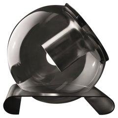 Joe Colombo Nickel-Plated Table Lamp 'The Globe' by Oluce