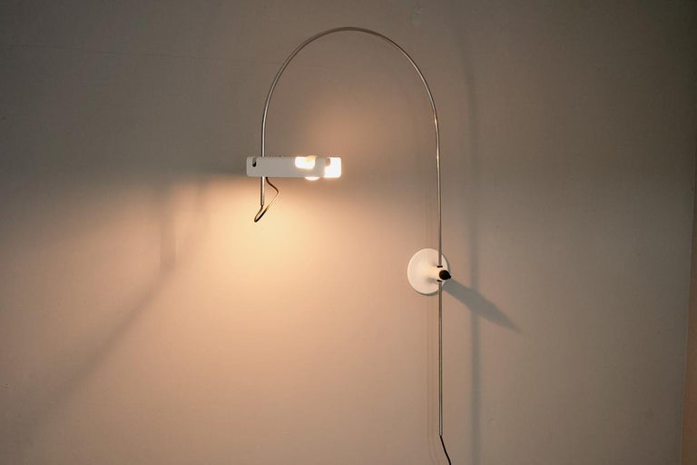 Joe Colombo Spider Arc Lamp O-Luce, 1967 For Sale 2